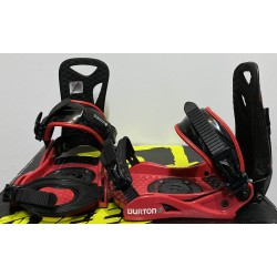 Legaturi snowboard BURTON PROGRESSION  mar M  red