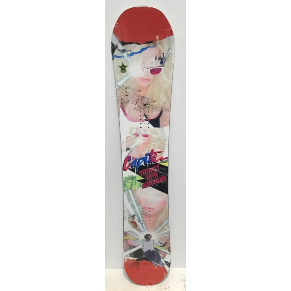placa snowboard CAPITA TOTALY FK'IN AWESOME 155 cm